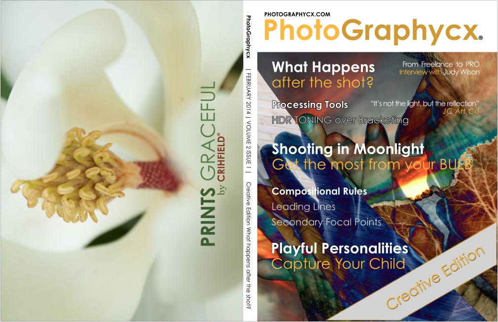 PhotoGraphycx Magazine Cover Sample