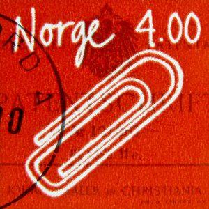 Norwegian Paper Clip Stamp