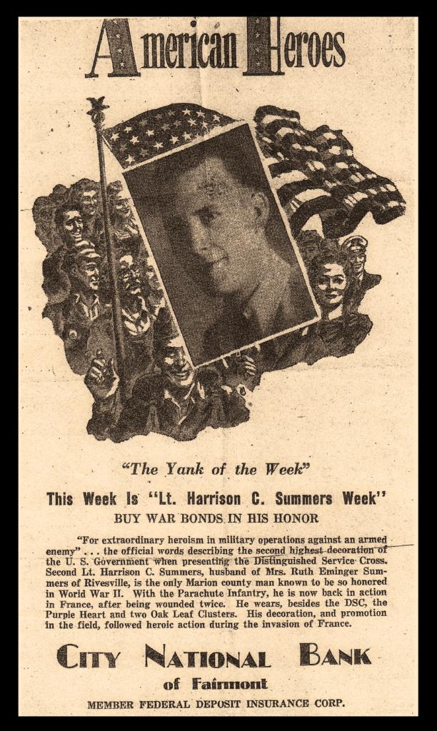 Harrison Summers War Bond Ad