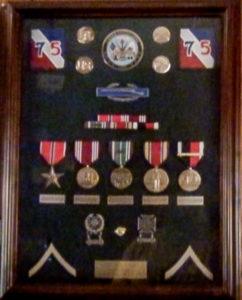 PFC Bernadine Linn's Medals.