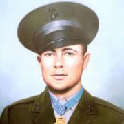 "CWO4 Hershel ""Woody"" Williams U.S. Marine Corps WW II 1943-1945 Fairmont, WV"